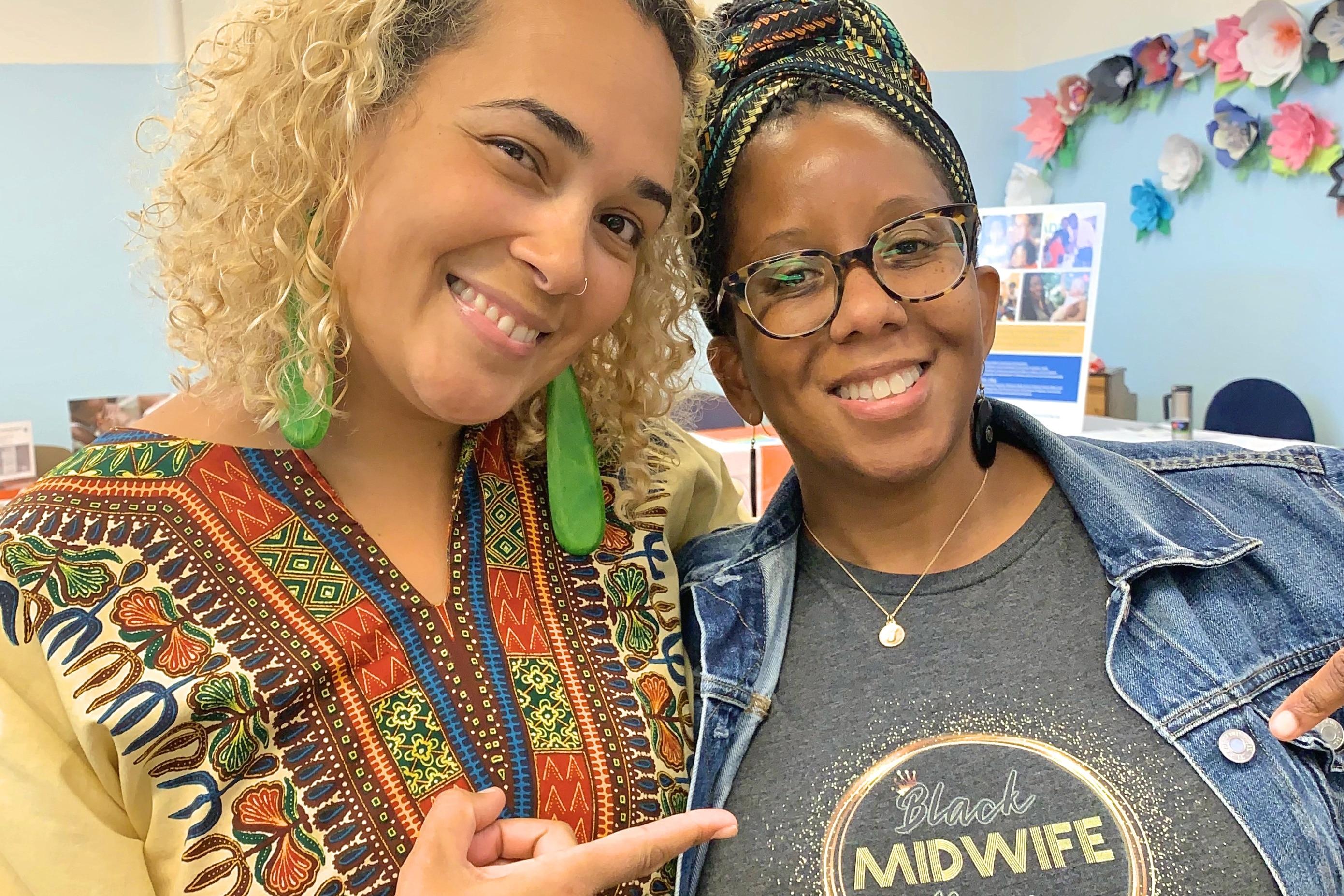 nashira and midwife